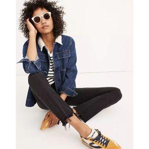 Madewell Cali Mini Flare Cut Jeans Berkeley Wash